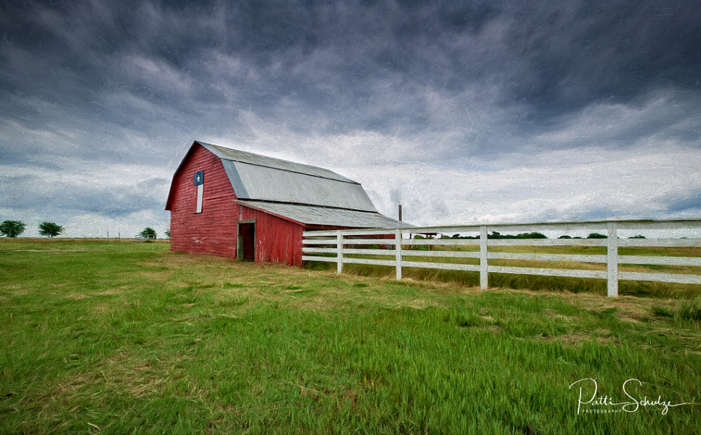 Texas Red Barn